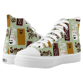 I Want Smore Please High-Top Sneakers