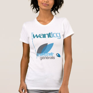 I Want T-shirt Distressed