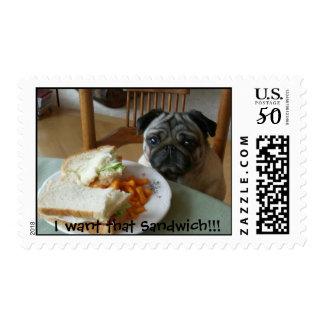 I want that Sandwich!!! Postage
