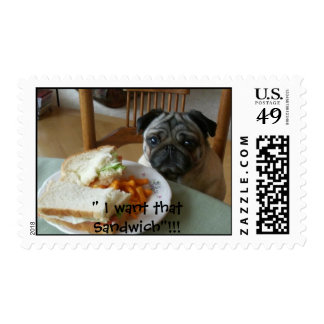 I want that Sandwich!!! Stamp