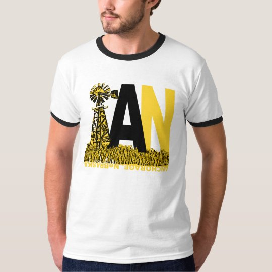 I WANT THE WINDMILL ANCHORAGE T-SHIRT