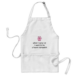 I Want to be...A Bacon Sandwich Adult Apron