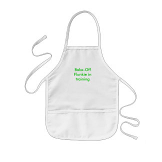 """I want to be a Bake-Off Flunkie, too!"" Aprons"