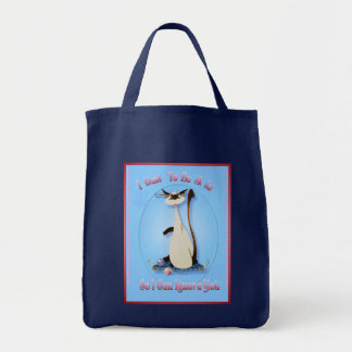 I Want To Be A Cat So I Can Ignore You..Bag Tote Bag