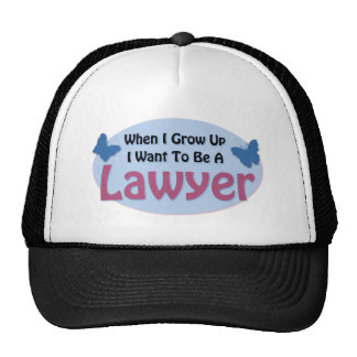 I want to be a Lawyer Trucker Hat
