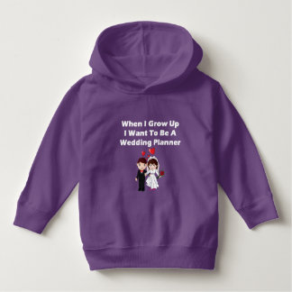 I Want To Be A Wedding Planner Hoodie