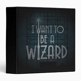 I Want To Be A Wizard Binder