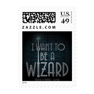 I Want To Be A Wizard Postage