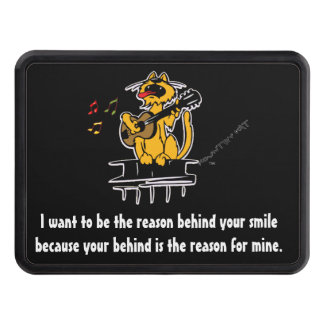 I want to be the reason behind your smile because trailer hitch cover