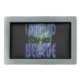 I Want To Believe 2 Belt Buckle