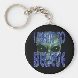 I Want To Believe 2 Keychain