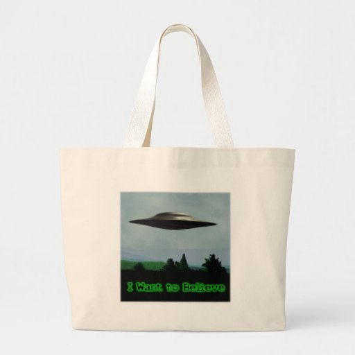 I want to believe canvas bags