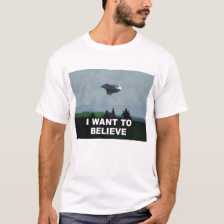 I Want to Believe Balloon Boy T-Shirt