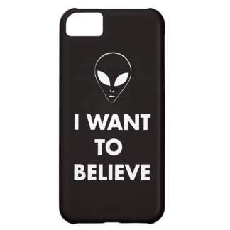 I Want To Believe (black) Cover For iPhone 5C