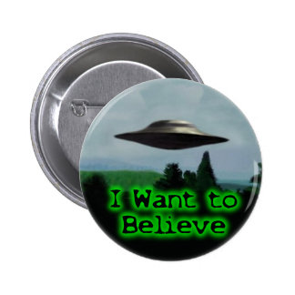 I want to believe 2 inch round button