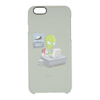 I Want To Believe Clear iPhone 6/6S Case