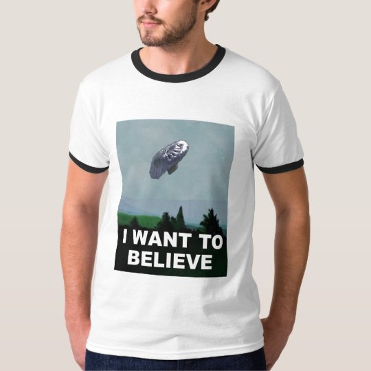 I want to Believe in Balloon Boy T-Shirt
