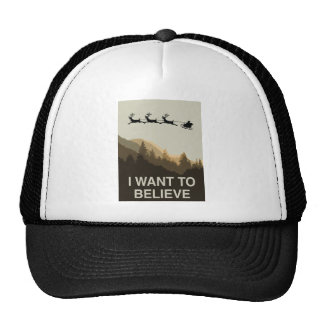 I want to believe in Christmas Trucker Hat
