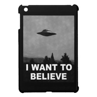 I WANT TO BELIEVE COVER FOR THE iPad MINI