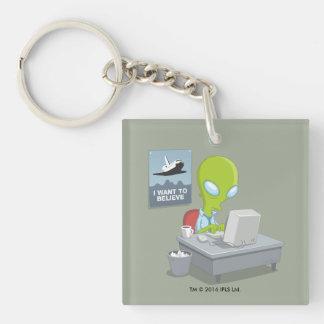 I Want To Believe Keychain