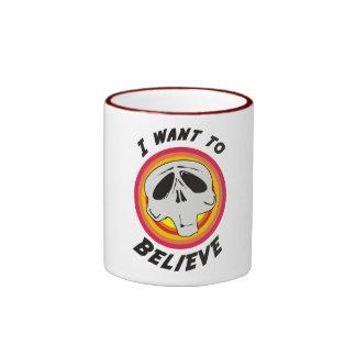 I Want To Believe! Ringer Mug