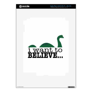 I Want To Believe... Skins For iPad 3