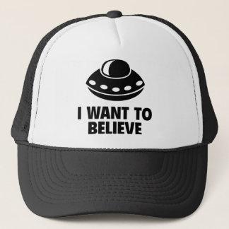 I Want To Believe Trucker Hat