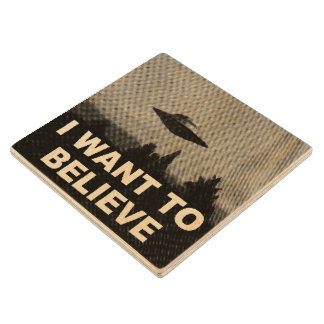 I WANT TO BELIEVE WOOD COASTER