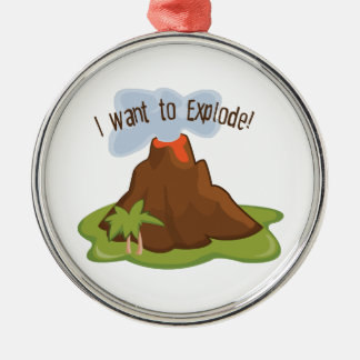 I Want To Explode Christmas Ornaments