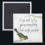 """I Want To Fly 2 Inch Square Magnet<br><div class=""""desc"""">Add some color and character to your kitchen decor with one of our amazing magnet designs!</div>"""