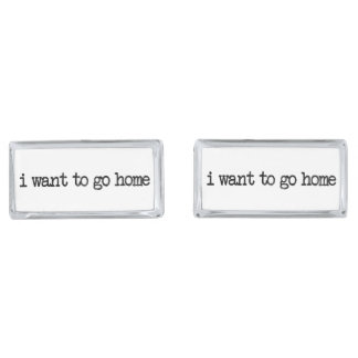 i want to go home cufflinks