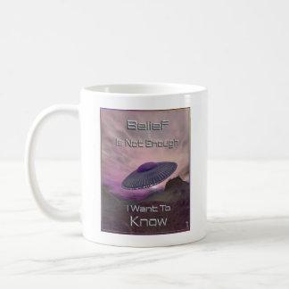 I Want To Know  Mug