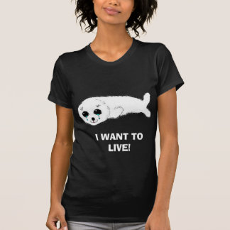 , I WANT TO LIVE! TEES