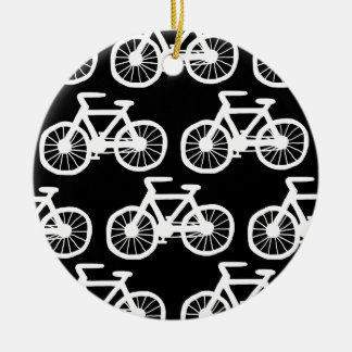 I Want to Ride my Bicycle Ceramic Ornament