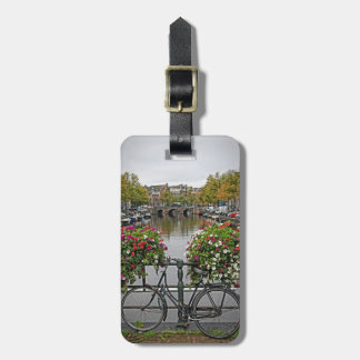 I Want to Ride My Bicycle in Amsterdam Luggage Tag