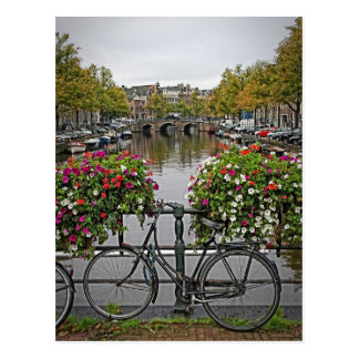 I Want to Ride My Bicycle in Amsterdam - Postcard