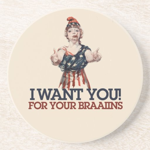 I want you drink coaster