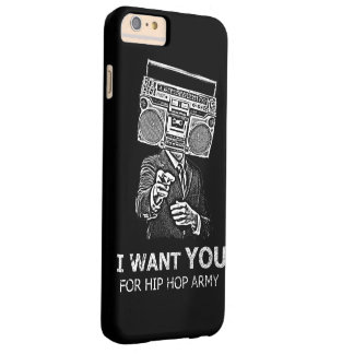 I want you for hip-hop army barely there iPhone 6 plus case