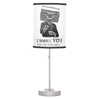 I want you for hip-hop army desk lamp