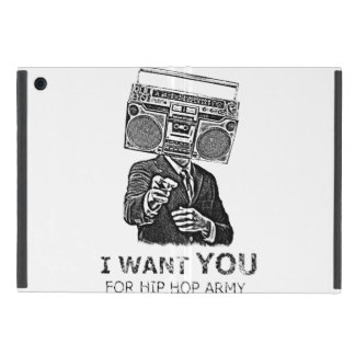 I want you for hip-hop army iPad mini cover
