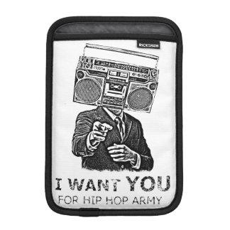 I want you for hip-hop army iPad mini sleeve