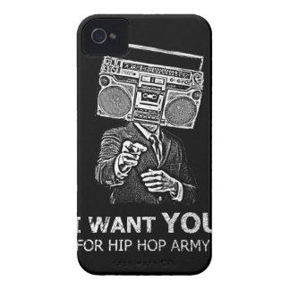 I want you for hip-hop army iPhone 4 Case-Mate case