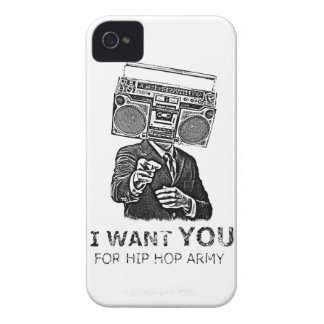 I want you for hip-hop army iPhone 4 cover