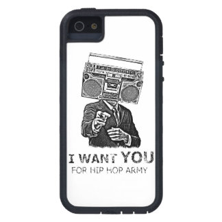 I want you for hip-hop army iPhone SE/5/5s case
