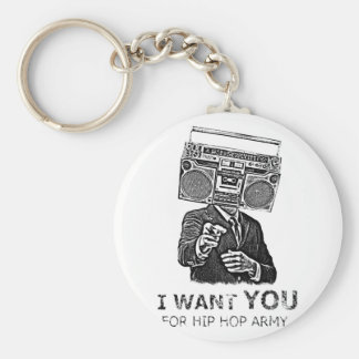 I want you for hip-hop army keychains