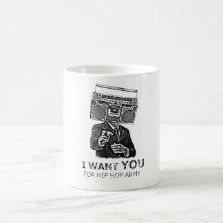 I want you for hip-hop army coffee mug