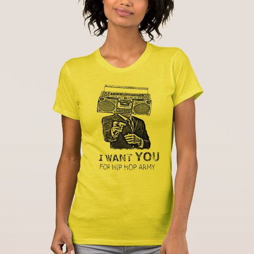 I want you for hip-hop army playera