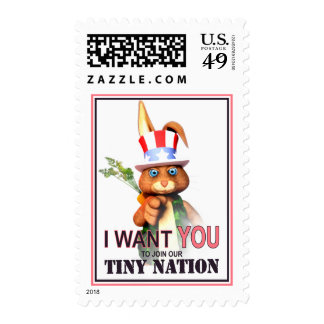 I Want You for our Tiny Nation Stamps