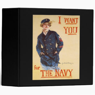 I want you for the Navy Binder