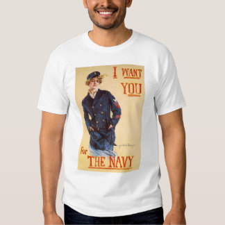 I want you for the Navy Shirt